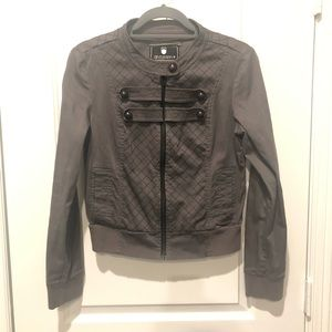 Grey Gentle Fawn Military Style Jacket - Size M